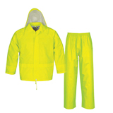 POLYESTER/ PVC RAINSUIT