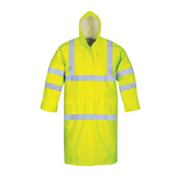 POLYESTER/ PVC REFLECTIVE RAINCOAT