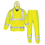 PU REFLECTIVE RAINSUIT