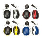 DUAL COLOR CAP MOUNTED EAR MUFF